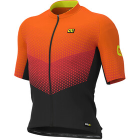 Alé Cycling Graphics PRR Delta Jersey Korte Mouwen Heren, black/red/fluo orange